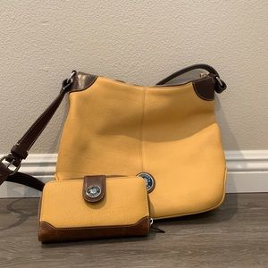 Dooney and Bourne crossbody bag and wallet